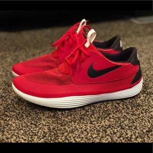 Nike Solarsoft moccasin university shoe!